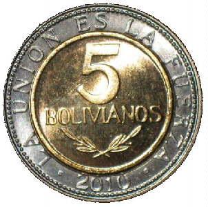 Nuevo Diseño De La Moneda 5 Bolivianos El Nombre Del País Cambia A Estado Plurinacional Bolivia Tiene Numero Km 213