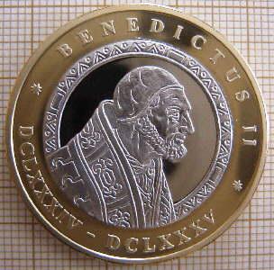 Resultado de imagen para San Benedicto II (684-685)